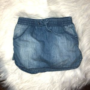 Girls Old Navy Denim Skirt